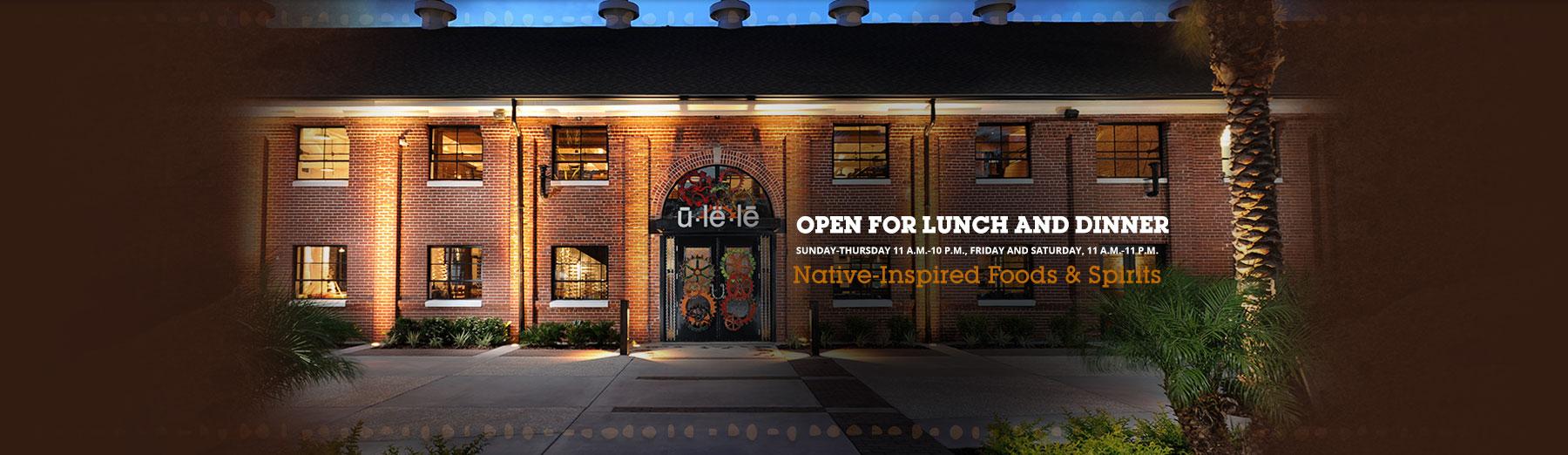 Inspiration Cuisine En U home - ulele - tampa restaurant now open on tampa's riverwalk